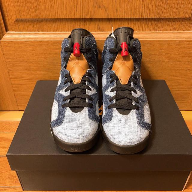 NIKE(ナイキ)のエアジョーダン 6 ジーンズ レディースの靴/シューズ(スニーカー)の商品写真