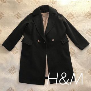 H&M - 【H&M】チェスターコート Mサイズ