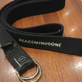 ピースマイナスワン(PEACEMINUSONE)のpeaceminusone ピースマイナスワン ベルト(ベルト)