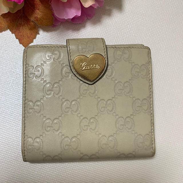 Gucci - ❤セール❤GUCCI グッチ 財布 折り財布 ハート かわいいの通販 by tomo's shop
