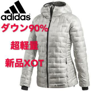 アディダス(adidas)の最終処分価格 新品XOT アディダス W CLIMAHEAT JKT ジャケット(ダウンジャケット)