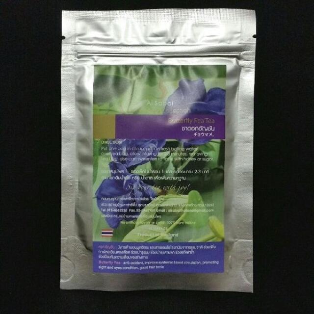 100%天然★バタフライピーティー(蝶豆)★便利なティーバッグ15個入り 食品/飲料/酒の飲料(茶)の商品写真