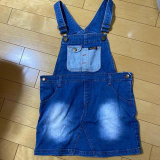 Wrangler - 女の子 オーバーオールスカート 120
