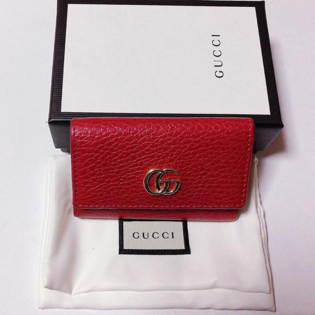 pentax q7 アクセサリー / Gucci - GUCCI♡マーモント6連キーケース の通販 by 🖤GG🖤