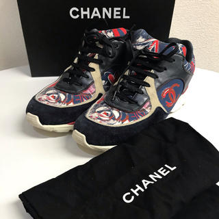 シャネル(CHANEL)のシャネル スニーカー サイズ41 1/2 箱 保存袋(スニーカー)