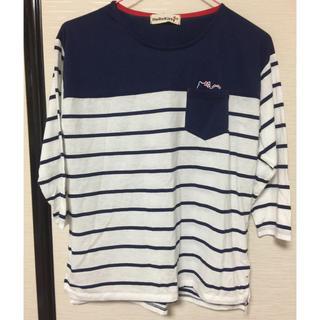 サンリオ(サンリオ)のハローキティ!七部袖!新品タグ付き(Tシャツ(長袖/七分))