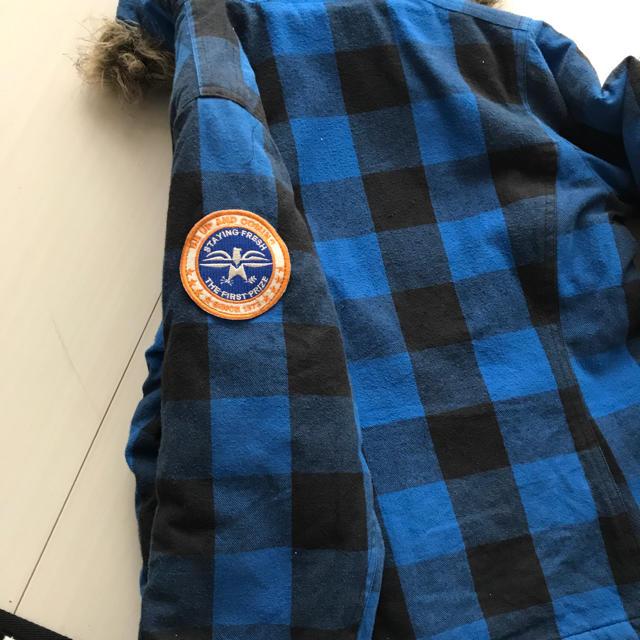 ikka(イッカ)のikka アウター。140センチ   キッズ/ベビー/マタニティのキッズ服男の子用(90cm~)(ジャケット/上着)の商品写真
