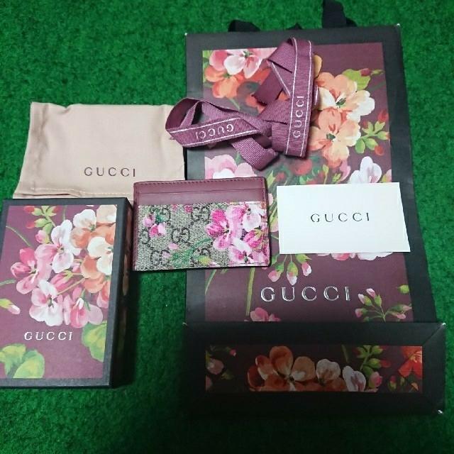 スーパーコピー 財布 chanelヴェルニ - Gucci - GUCCIブルームス パスケース🌹🌹🌹の通販 by 💐こてママ's shop💐