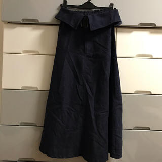ベルト付き☆ロングスカート(ロングスカート)