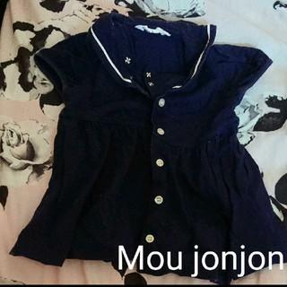 ムージョンジョン(mou jon jon)のmoujonjonトップス サイズ80☆(Tシャツ)