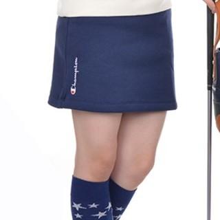 チャンピオン(Champion)の新品 M champion チャンピオン ゴルフ 裏起毛 スカート navy 紺(ウエア)