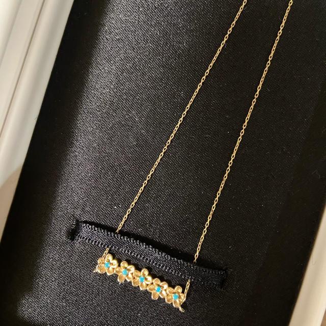 Enasoluna(エナソルーナ)のエナソルーナ enasoluna リトルフラワーネックレス レディースのアクセサリー(ネックレス)の商品写真