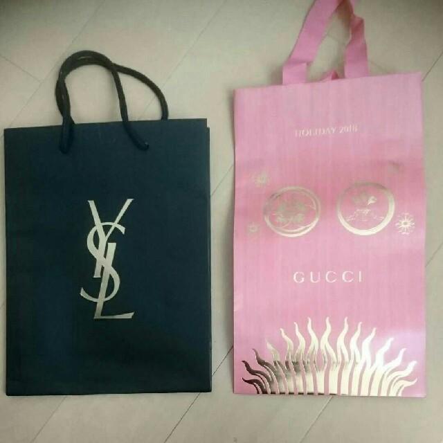 Gucci - イヴ・サンローラン&GUCCI★ショップ袋の通販 by ままりん's shop