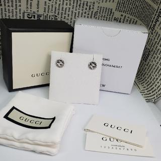 グッチ(Gucci)の《№539》GUCCI インターロッキングG ピアス 男女兼用 ◎新品未使用◎(ピアス(両耳用))