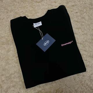スタイルナンダ(STYLENANDA)のmmlg 87mm Tシャツ 黒(Tシャツ(半袖/袖なし))