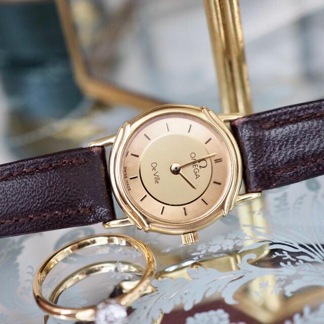 銀座 リシャール ミル 、 OMEGA - 全純正・美品✨オメガ ツートンゴールド クォーツ✨トゥモローランド agete の通販 by Plumage❤︎antique watch