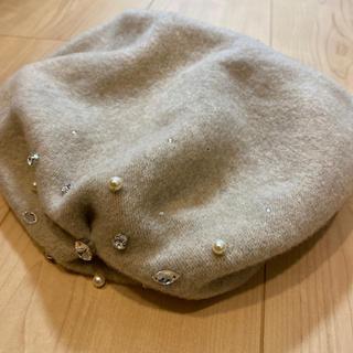 アンテプリマ(ANTEPRIMA)のANTEPRIMA ベージュベレー(ハンチング/ベレー帽)