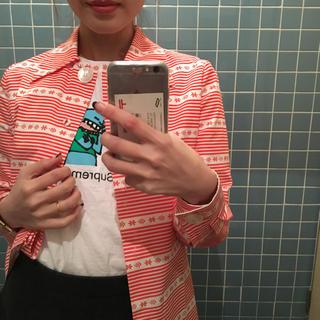 ミュウミュウ(miumiu)のmiumiu crews line shirt.(シャツ/ブラウス(長袖/七分))