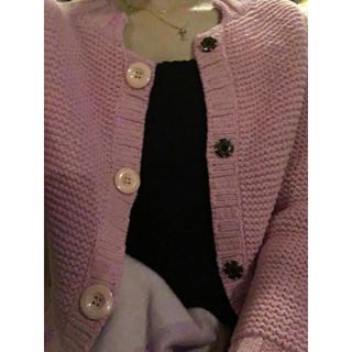 クロエ(Chloe)のChloé pink wool cardigan.(カーディガン)