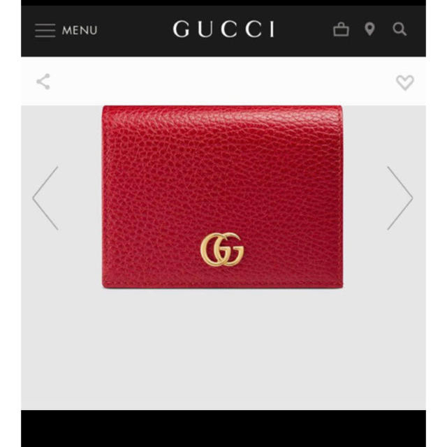 gucci ネックレス 、 Gucci - GUCCI プチマーモント レザーウォレットの通販 by SS