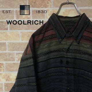 ウールリッチ(WOOLRICH)の【WOOLRICH】 ネイティブシャツ ボタンダウン Lサイズ(シャツ)