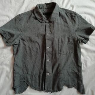 コムデギャルソン(COMME des GARCONS)のコムデギャルソン 丸襟 製品染めシャツ(シャツ/ブラウス(半袖/袖なし))