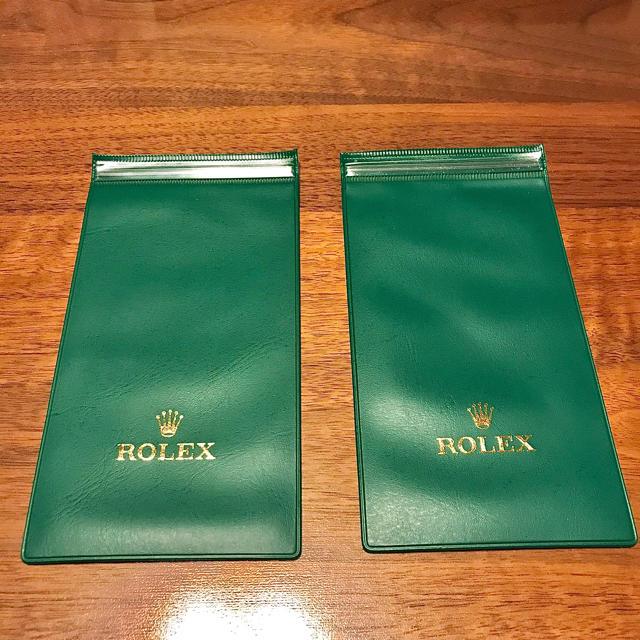 パネライ 2018 / ROLEX - ★新品、未使用品★ ロレックス 時計ケース2枚です!の通販 by イーサン's shop