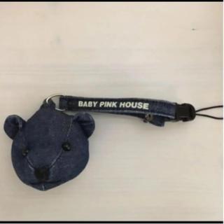 ピンクハウス(PINK HOUSE)のピンクハウス♡くまちゃんストラップ(ストラップ/イヤホンジャック)