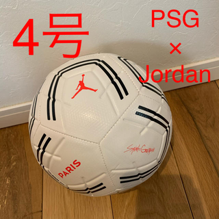 ナイキ(NIKE)の新品】PSG × Jordan コラボ サッカーボール 4号(ボール)