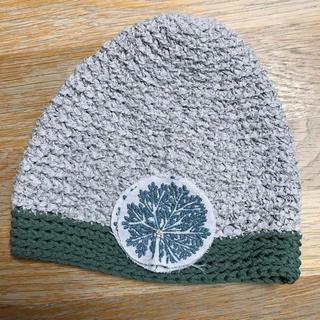 ミナペルホネン(mina perhonen)のミナペルホネンニット帽  hitomi shinoyama(ニット帽/ビーニー)