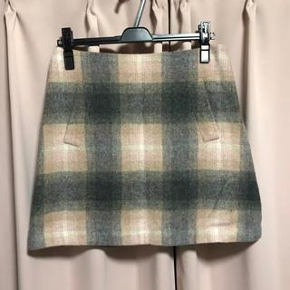 クミキョク(kumikyoku(組曲))のクミキョク 組曲 台形スカート ミニスカート タイトスカート(ミニスカート)