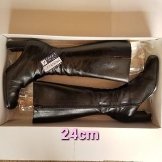 マリーファム(Marie femme)のマリーファムのロングブーツ 天然皮革(ブーツ)