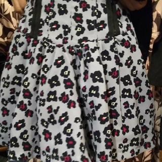 ジエンポリアム(THE EMPORIUM)のTHE EMPORIUM 花柄 ミニスカート(ひざ丈ワンピース)