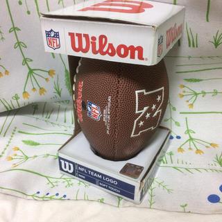 ウィルソン(wilson)のアメフト NFL ウィルソン ボール ミニ レプリカ 箱付き(アメリカンフットボール)