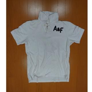 Abercrombie&Fitch - アバクロ ポロシャツ ホワイト