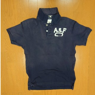 Abercrombie&Fitch - アバクロ ポロシャツ ネイビー
