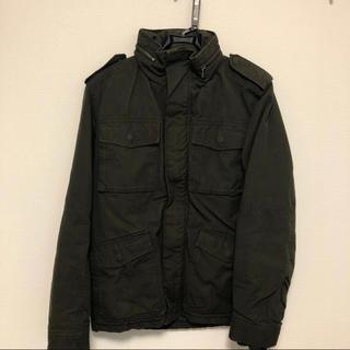 エイチアンドエム(H&M)の美品 ブルゾン ミリタリージャケット カーキ H&M (ブルゾン)