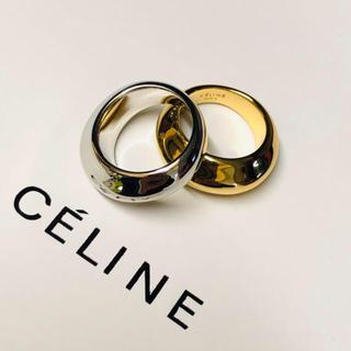 CELINE  セリーヌ ボリュームリング ムーンリング 2カラー 18k (リング(指輪))