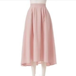 ユメテンボウ(夢展望)のロングフィッシュテールスカート ダスティピンク L(ひざ丈スカート)