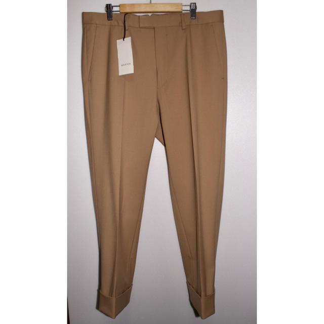 chanel 長財布 激安 - Gucci - [新品タグ付き] GUCCI グッチ スラックスパンツ サイズ50 w36程度の通販 by wearminten