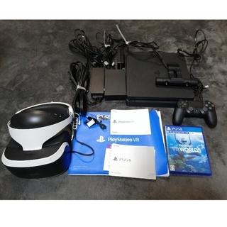 プレイステーションヴィーアール(PlayStation VR)の(とわ様専用)動作確認済 プレイステーション4本体(家庭用ゲーム機本体)