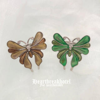 🦋 Vintage Retro Butterfly Ring(リング(指輪))