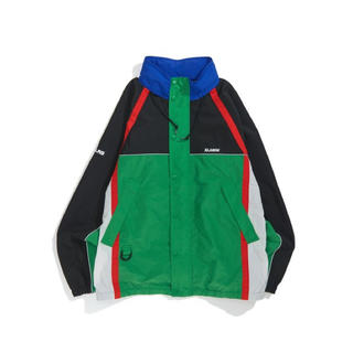 XLARGE - XLARGE MULTI PANELED NYLON JACKET