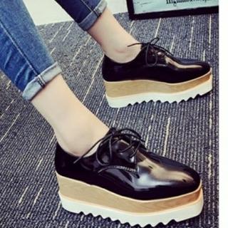 dholic - オックスフォードシューズ 厚底靴