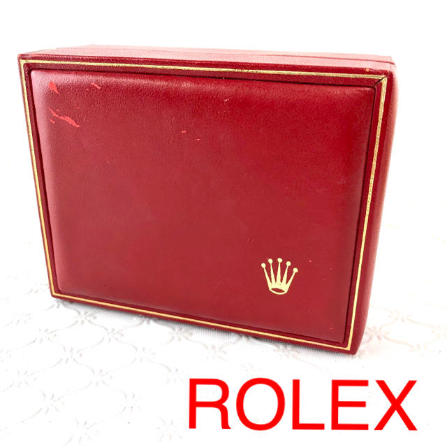 タグ ホイヤー 昔 、 ROLEX - ロレックス 時計 箱 小物入れ ROLEX  空箱 赤❣️の通販 by あやか's shop