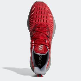 アディダス(adidas)のALPHABOUNCE+ RUN U   レッド 28cm(スニーカー)