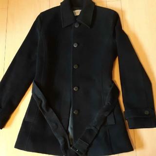PROPORTION BODY DRESSING - アンゴラ混黒コート
