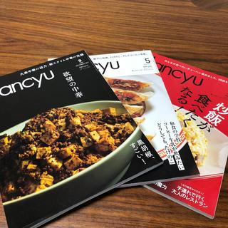 dancyu (ダンチュウ)  中華系3冊