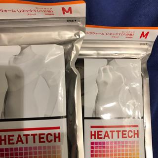 ユニクロ(UNIQLO)のLALA様 専用 極暖 M一袋(アンダーシャツ/防寒インナー)