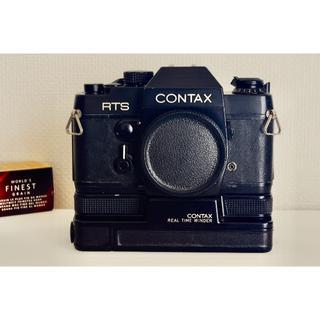 キョウセラ(京セラ)のCONTAX RTS + リアルタイムワインダー・完動品(フィルムカメラ)